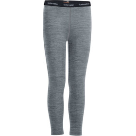 Icebreaker 200 Oasis Leggings Børn, gritstone heather